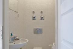 Und selbstverständlich gibt es bei uns auch eine Toilette!